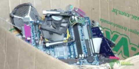 Programa Planeta Sustentável - Descarte de lixo eletrônico
